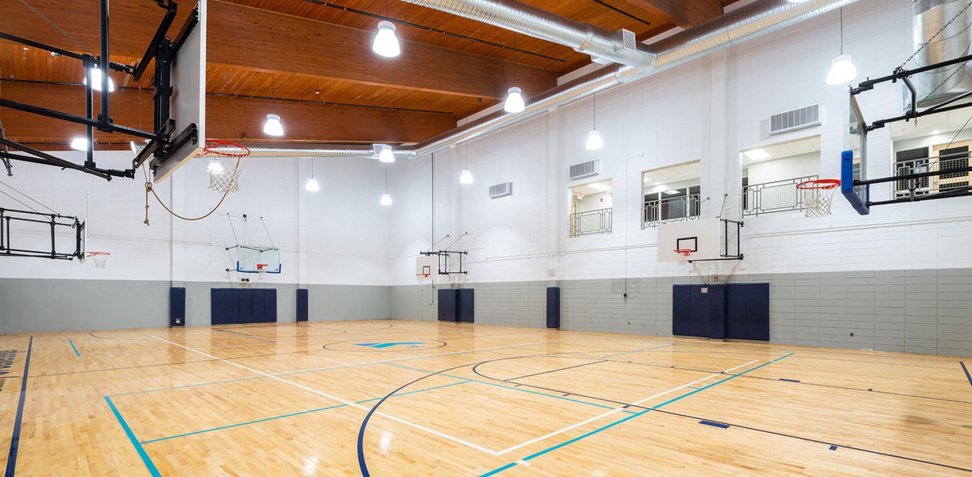 Ocean Community YMCA basketball court