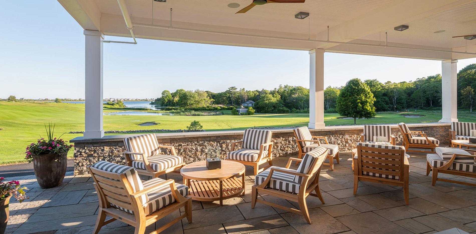 Weekapaug Golf Club patio